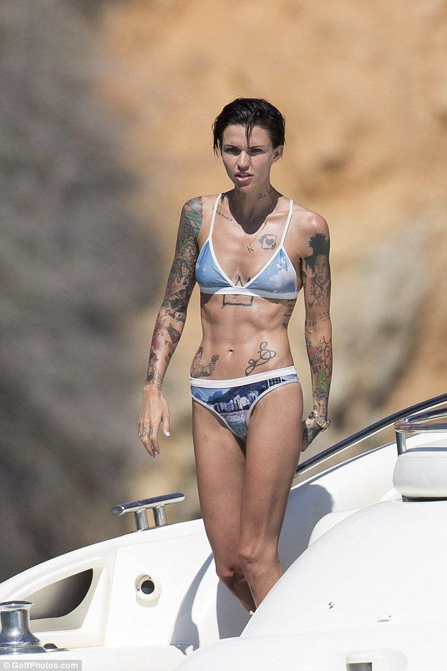 'I've been practicing all week!' Ruby Rose, 30, has revealed that she has her sights set o...