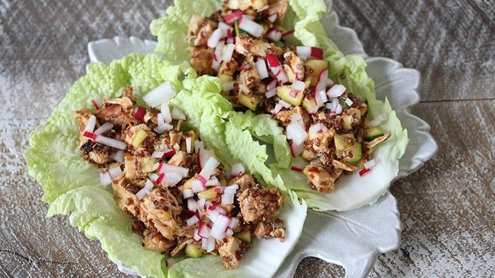 The 28-Day Shrink Your Stomach Challenge Taco Chicken Wraps | The Dr. Oz Show