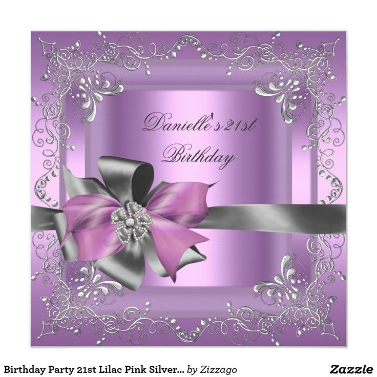 happy birthday invitation pictures%0A Sweet Sixteen    Birthday Party Lilac Pink Silver Invite In our offer link  above you will seeDiscount DealsOnline Secure Check out Quick and Easy