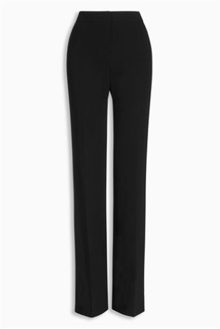 Next boot cut black trousers