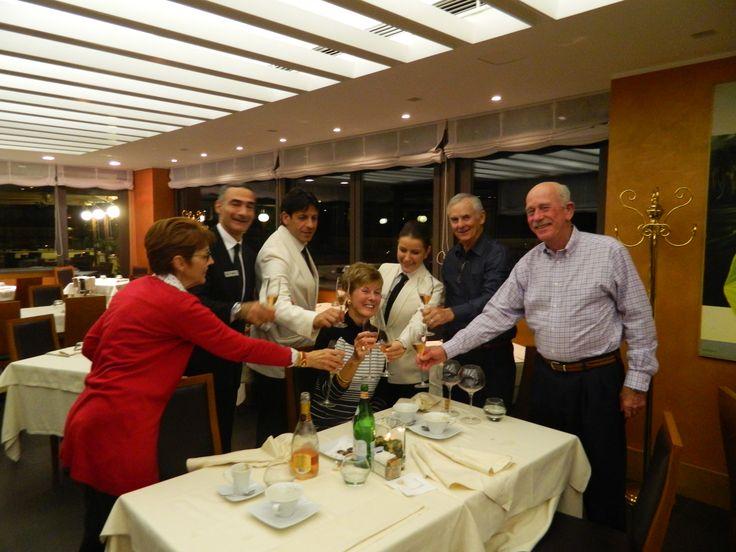 #Comeasaguestleaveasafriend @ Ambrosia Restaurant - #HotelArtemide - Rome