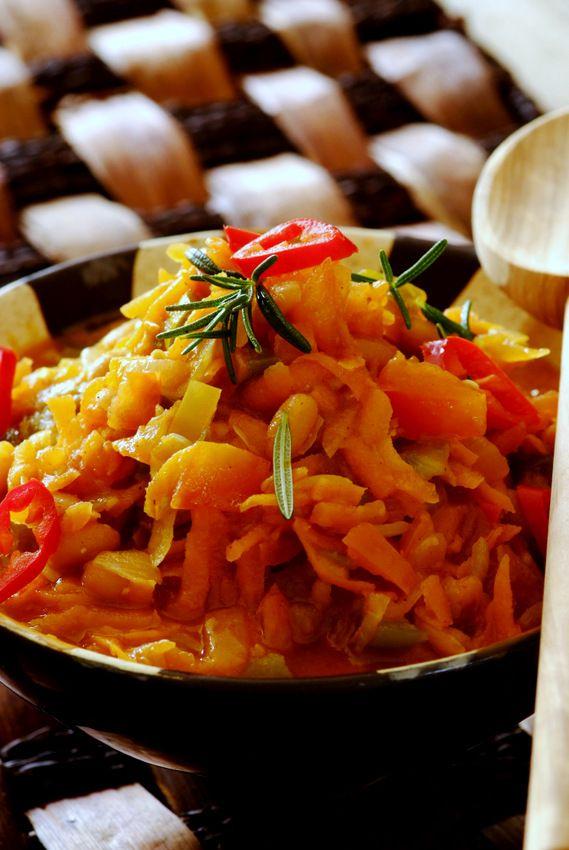 ... stock wonderfully spicy chakalaka spicy south stock pot forward