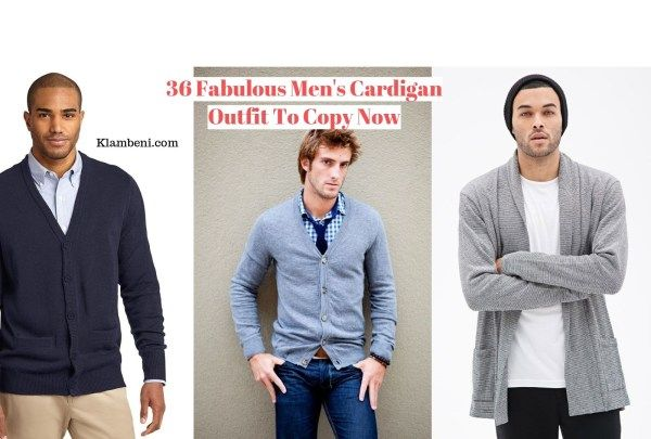 36 Fabulous Mens Cardigan Outfit To Copy Now