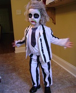 Beetlejuice Halloween Costume for Boys
