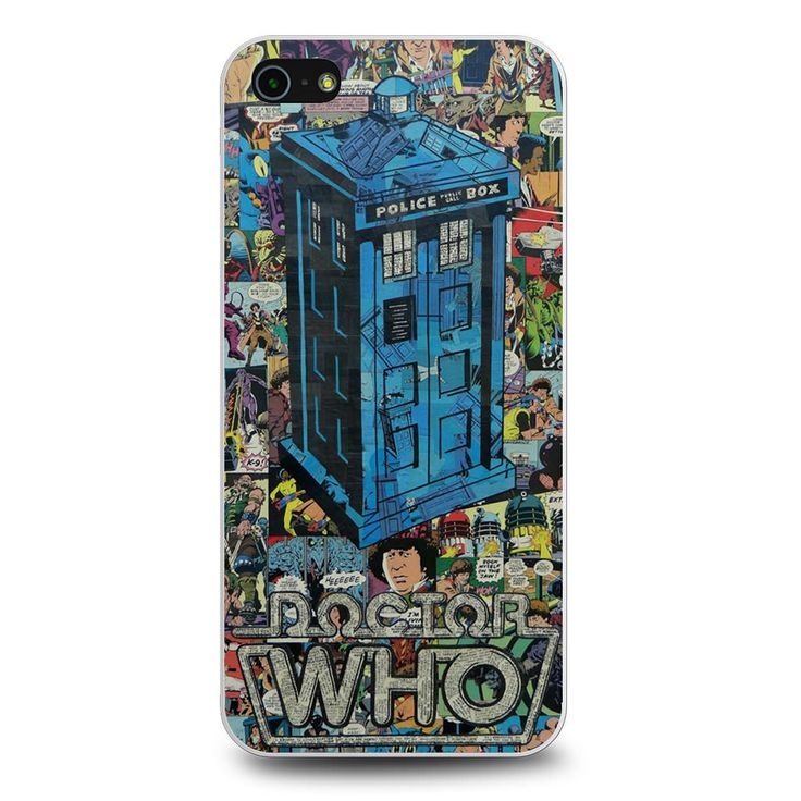 Police Box Doctor Who Comic iPhone 5[S] Case