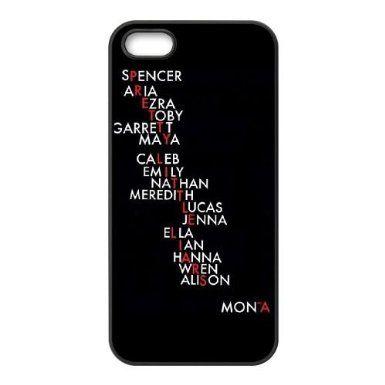 YNACASE(TM) Pretty Little Liars Personalized Hard Back Cover Case for iPhone 5,5G,5S,Custom Phone Case with Pretty Little Liars: Amazon.co.uk: Electronics