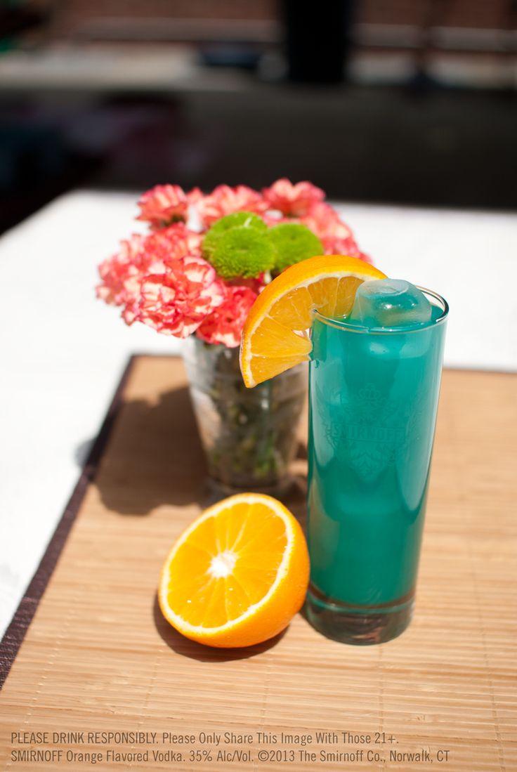 Smirnoff orange blue hawaiian drink hawaiian drinks for Orange and blue cocktails