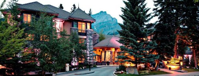 Delta Banff Royal Canadian Lodge offers the perfect Canadian honeymoon in the Rockies.