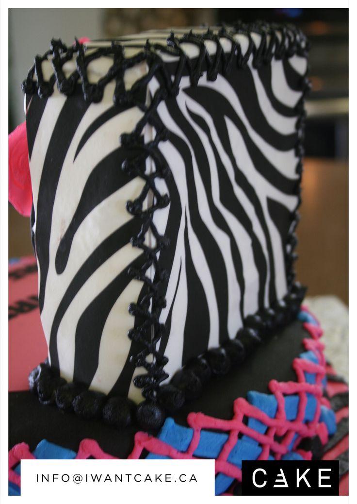 Breanna's Monster High Birthday Cake