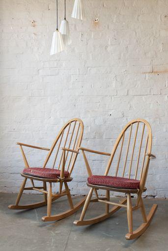 ercol rocking chair fashion ideas forward pair of ercol rocking chairs ...