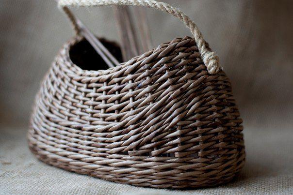 Фотографии Плетение из газет