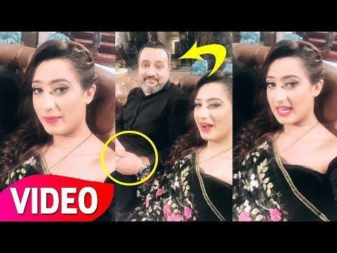 Alisha Panwar Behind The Sets Of Ishq Mein Marjawan Colors TV Drama
