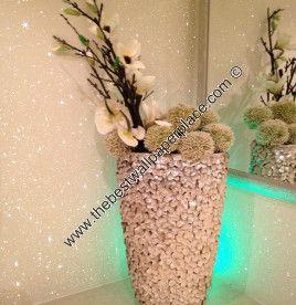 Glitter Wallpaper - Sparkle - Shades of White Glitter Wallcovering