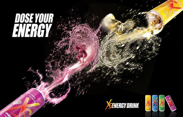 XS Energy Drink AD Design by gtl communication | Design is ...