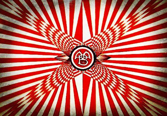 Aalborg logo efecto digital by carlossimio.deviantart.com on @DeviantArt