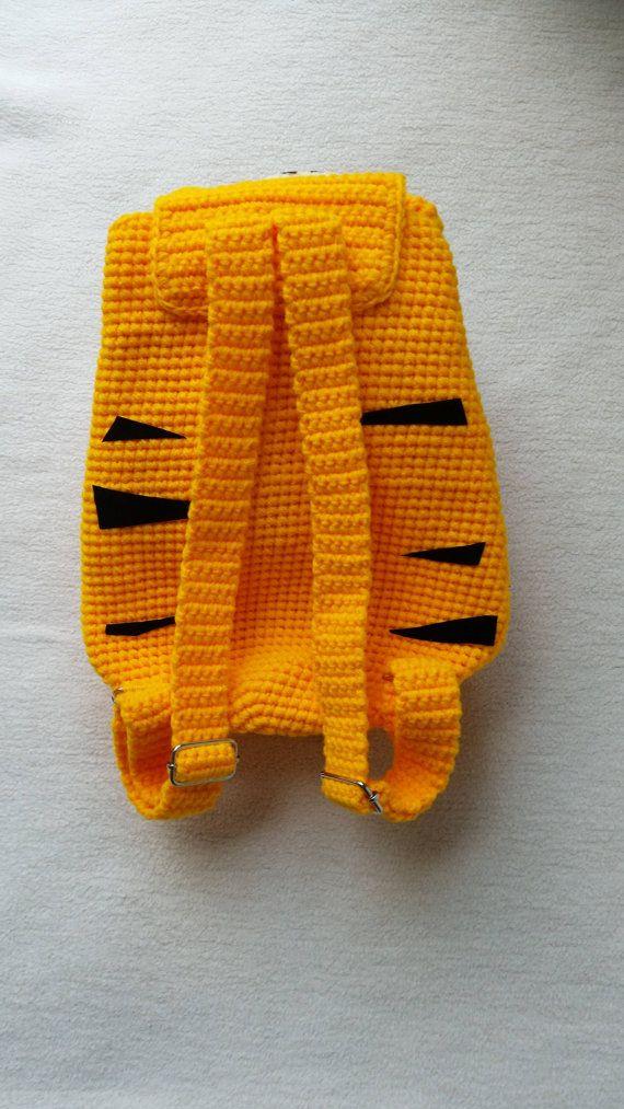 Tigre mochila Crochet cumpleaños regalo regalo de por Solutions2511