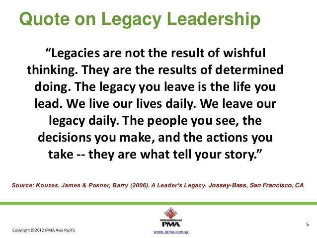 Image result for leaving a legacy quotes