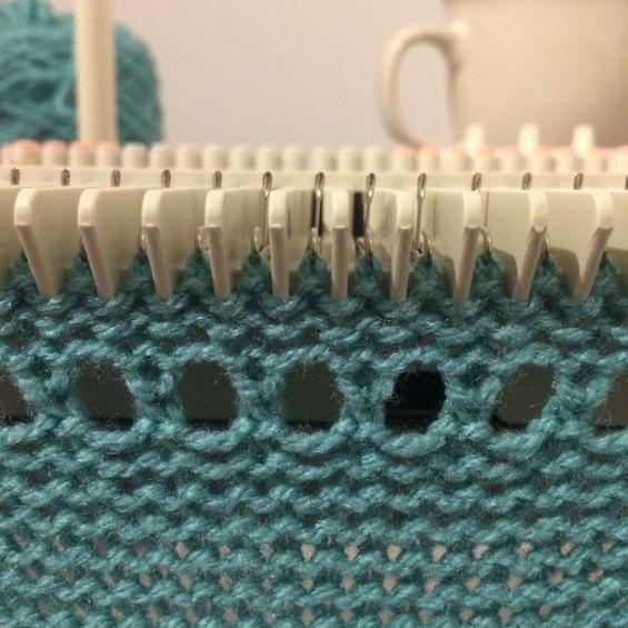 Pin On Knitting Machine Tutorial