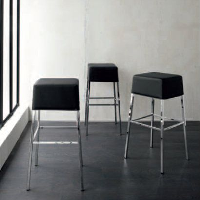 Fez Stool  This elegant and minimalist piece of furniture works perfectly both in your house kitchen and in a coffee shop or even an office.  It unique, ultramodern design makes it an elegant piece to enrich your favourite place with.