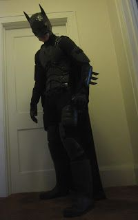 DIY Batman Costume. Each part of the costume has its own tutorial. I love the internet.