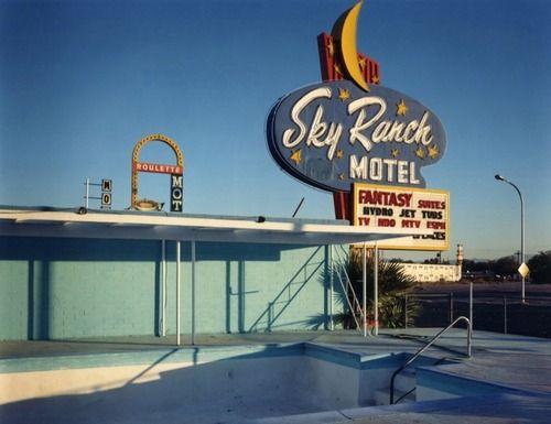 Sky Ranch Motel, Las Vegas, Nevada, 1988
