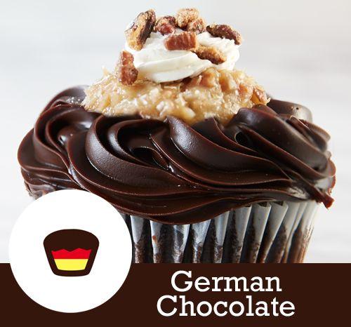 German Chocolate Cake Filling Topping Ganache