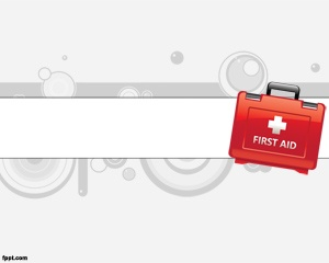 First AID PowerPoint template is a nice template for Hospital or First AID presentations