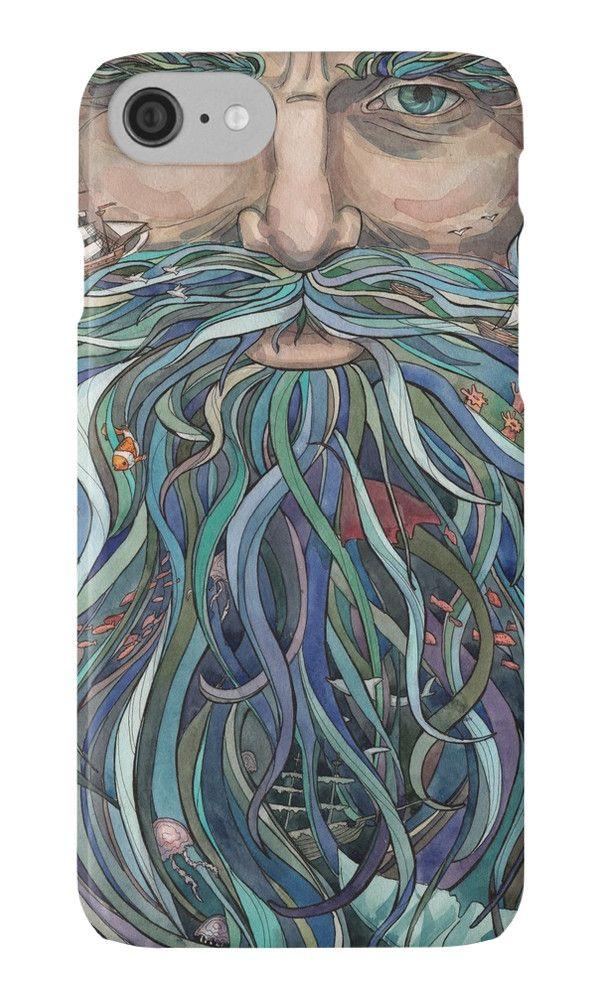 Old man Ocean by Julia Shironina