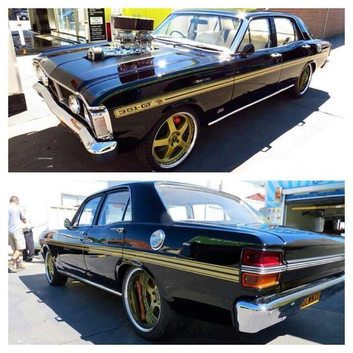 Epic blown Ford XY Falcon XYGTHO phase 3