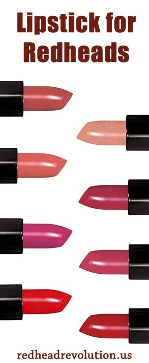 #lipstick just for us! Find your colors at Redhead Revolution.