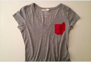 Ohio Pocket V-neck T Shirts on Etsy, $28.00