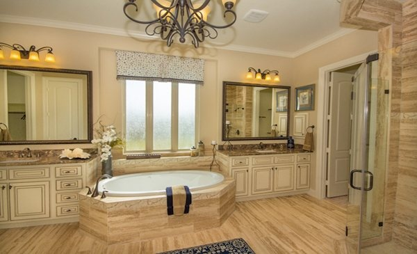 Luxe Master Bath - Cross Creek Ranch by our Village Builders Brand