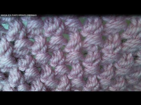 MAGLIA 51: PUNTO TURCO - YouTube
