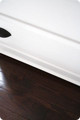 Suggestion for what color to stain your floors (dark) and what kind of poly to put on it so that it doesn't show ANYTHING!!!!