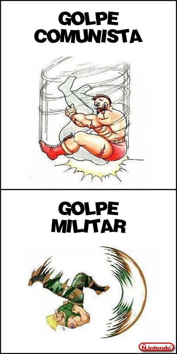 Golpe Comunista X Golpe militar