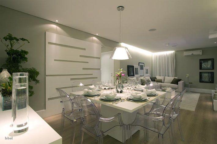 10 salas de jantar integradas. Como decorar