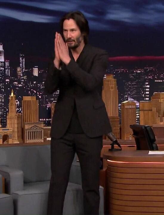 """Keanu Reeves 23th June 2017 """"The Tonight Show"""""""