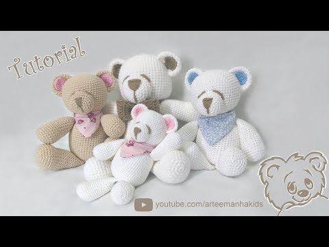 Ovejas puff (como pomponcitos :) tejidas a crochet / amigurumi! - YouTube