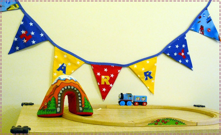 Young Boys Personalised Bunting