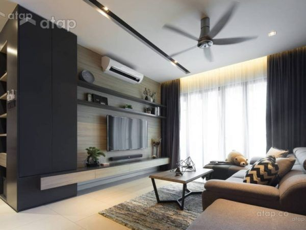 Cool 5 Unique Living Room Design Malaysia Style That You Must See Apartment Interior Design Interior Design Living Room Lounge Room Design