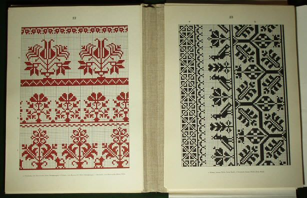 Romanian folk embroidery pattern2. - Saxon costume linen