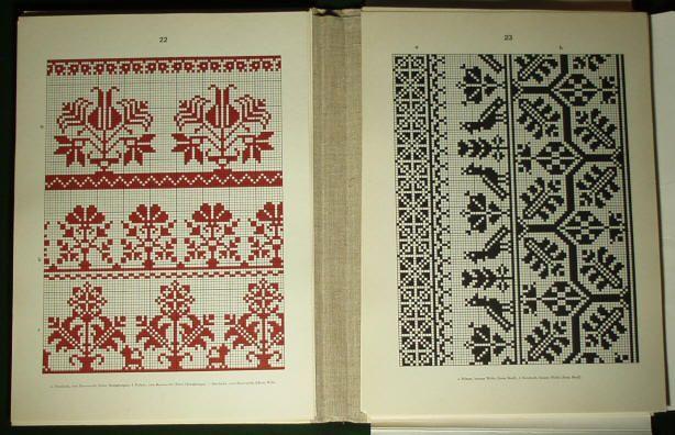 Romanian folk embroidery pattern2. - Saxon costume linen