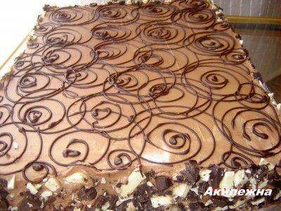 Кулинарные рецепты от Лики: Пирожное «Донна Белла»