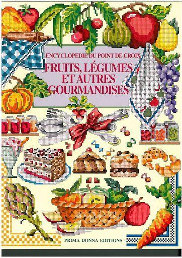 Encyclopédie du point de croix, fruits, légumes et autres gourmandises - Chantal MIOCHE CONVERT - Álbuns da web do Picasa