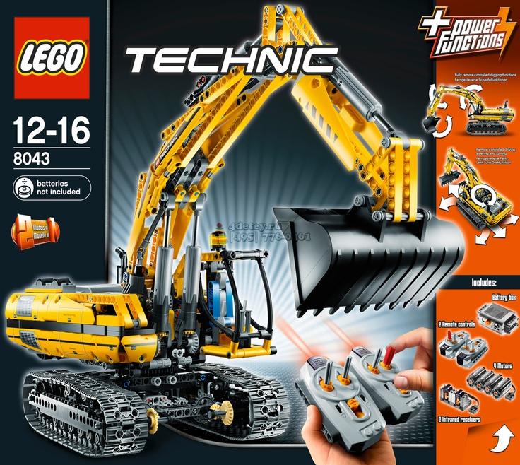 Lego Technic 8043