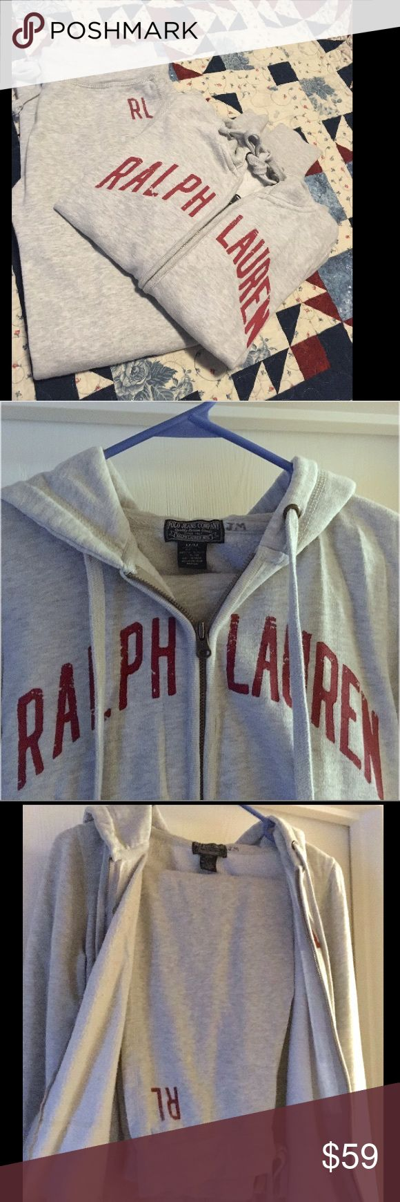 Ralph Lauren Grey JoggingSuit/Hoodie/Sweatpants S Ralph Lauren Small Grey Jogging Suit, Zip up Hoodie w/ Pockets & Sweatpants. Nice Set. MAKE AN OFFER Polo by Ralph Lauren Other