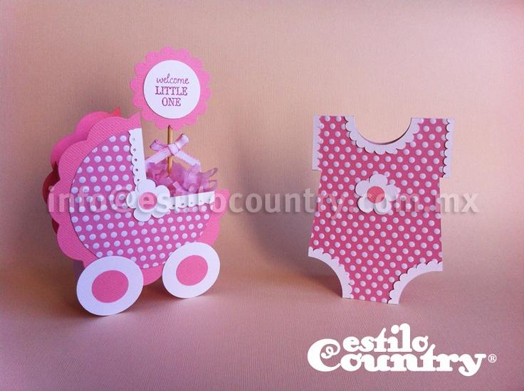 Invitaci n y dulcero baby shower paper crafts for Baby shower paper crafts