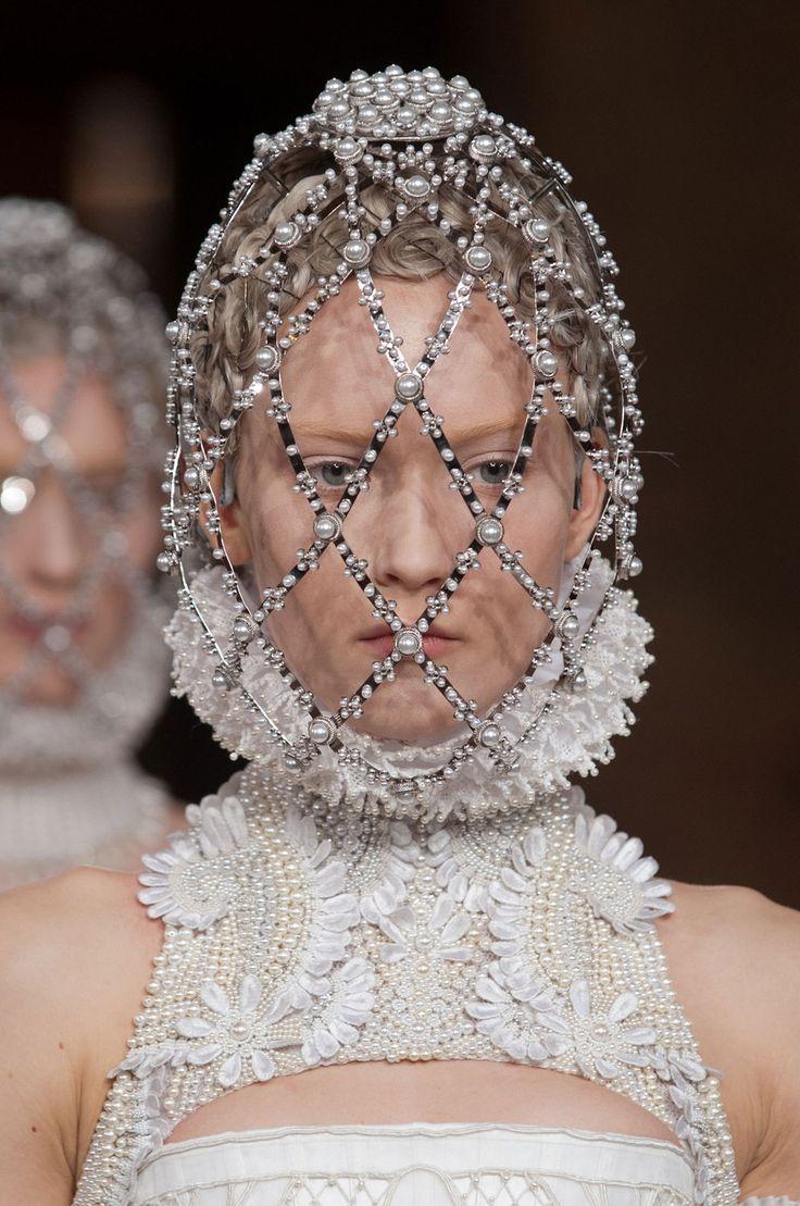Alexander McQueen at Paris Fashion Week Fall 2013