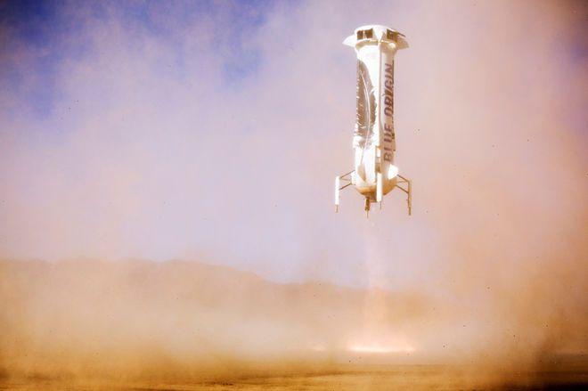 New Shepard's 5th Landing
