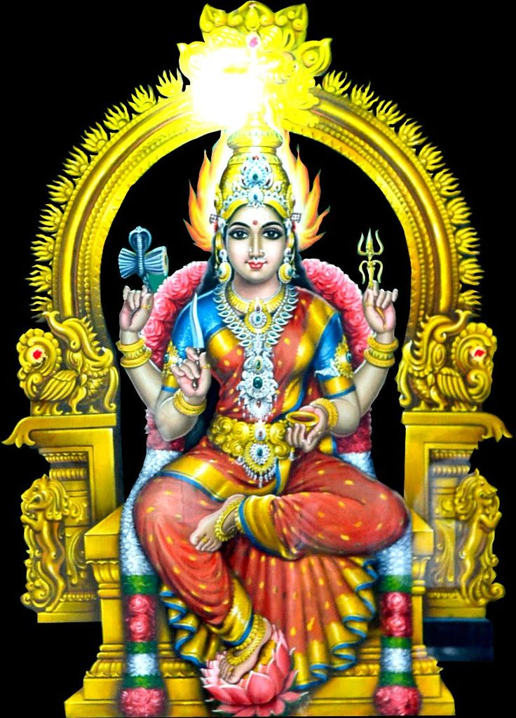 Narthamalai Muthumari Amman / Sage Narather done penance